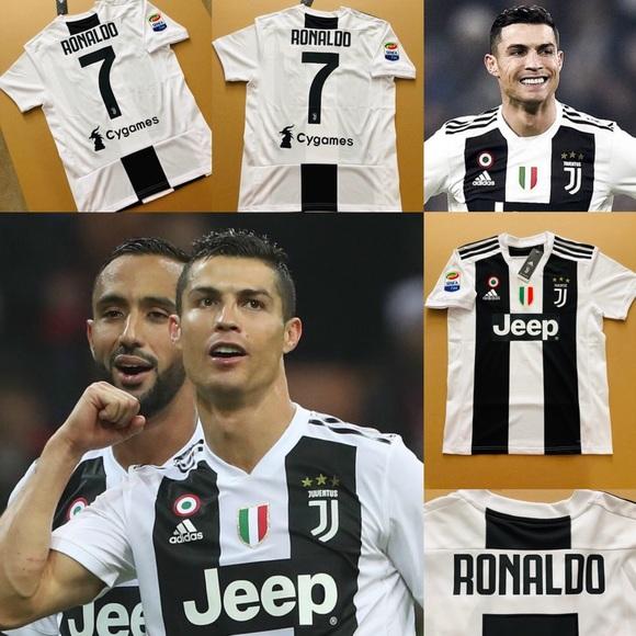 875e88b955a 2019 Ronaldo  7 Juventus Home Soccer Jersey CR7